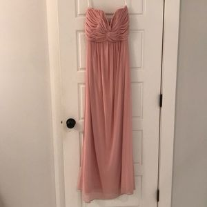 Blush Pink Bridesmaid's Dress